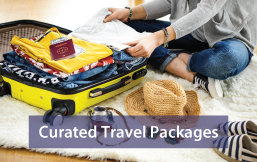subsection of Curated Travel Packages