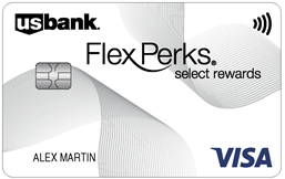 U.S. Bank FlexPerks® Select Rewards Visa® card